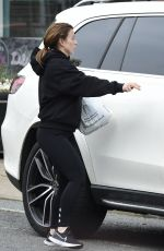 Coleen Rooney Seen nipping to the shops in Alderley Edge in Cheshire