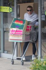 Coleen Rooney Shopping trip at Waitrose in Alderley Edge Cheshire