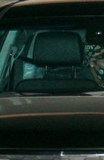 Demi Lovato Keeps a low profile as she is spotted leaving dinner with friends at Nobu in Malibu