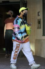 Demi Lovato Spotted leaving a building in Beverly Hills