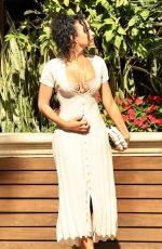 Draya Michele Enjoy a romantic Sunday Brunch date at the Four Seasons in West Hollywood