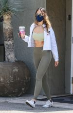 Eiza Gonzales Leaving her gym in West Hollywood