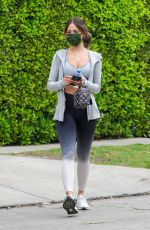 Eiza Gonzales Leaving her Pilates class in West Hollywood