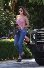 Eiza Gonzalez Getting her mask on in West Hollywood