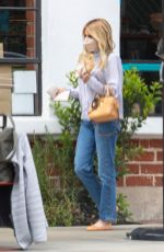 Emma Roberts Getting takeout in Los Angeles