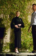 Emma Roberts Stuns as she arrives to dinner party in Beverly Hills