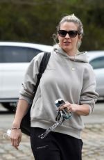 Gemma Atkinson All smiles she is seen arriving at work at Hits Radio in Manchester