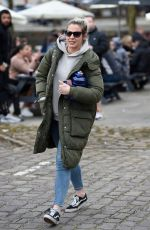 Gemma Atkinson Spotted leaving Hits Radio Station in Manchester