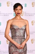 Gugu Mbatha-Raw At 2021 BAFTA Film Awards in London