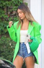 Hailey Bieber At a meeting in Beverly Hills