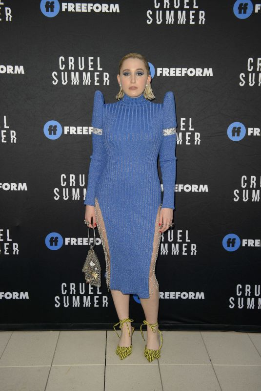 Harley Quinn Smith At the premiere of Freeform
