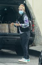 Heidi Montag Pictured while out running errands in the Palisades