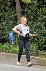 Hilary Duff Out for a hike in Studio City