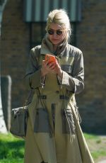 Holly Willoughby Out and about in London