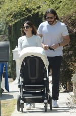 Jenna Dewan Out on a stroll with her baby in LA