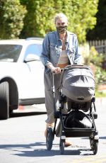Jess Hart Steps out with her newborn daughter for a girls day in LA