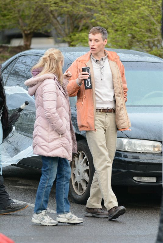 Jessica Chastain On the set of The Good Nurse in Stamford