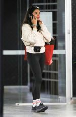 Jessica Gomes Pictured leaving Westfield where she purchased a jacket from Northface in Sydney