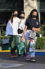 Jordyn Woods Getting in some retail therapy at Sephora and Barnes and Nobel in Calabasas