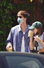 Kaia Gerber and Jacob Elordi Are Spotted on a Rare Outing Together in Los Angeles
