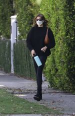 Kaia Gerber Arrives at a pilates class in West Hollywood