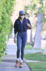 Kaia Gerber Going to a pilates class in West Hollywood