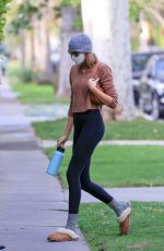 Kaia Gerber Heading to her workout in West Hollywood