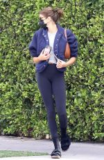 Kaia Gerber Leaves a pilates class in West Hollywood