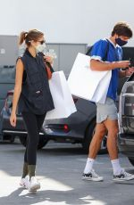 Kaia Gerber Out and about in Beverly Hills