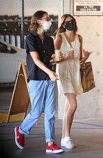 Kaia Gerber Shopping for groceries at Erewhon in Los Angeles