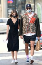 Kaia Gerber Stocks up on drinks in Los Angeles