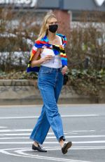 Karlie Kloss Spotted out on a coffee run in New York