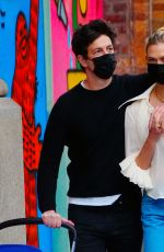 Karlie Kloss With new dad Joshua Kushner and their baby are spotted together on a stroll in New York City