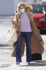 Kate Garraway Makes a stylish appearance as she arrives for work at the Smooth Radio Studios in London
