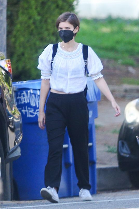 Kate Mara Out with her daughter in Los Angeles