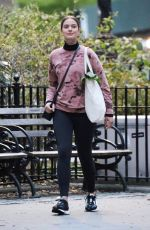 Katie Lee Is all smiles for the cameras during a photoshoot in New York City
