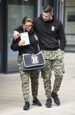 Katie Price Seen wearing her son Harveys Clothing Range matching outfits at Steph
