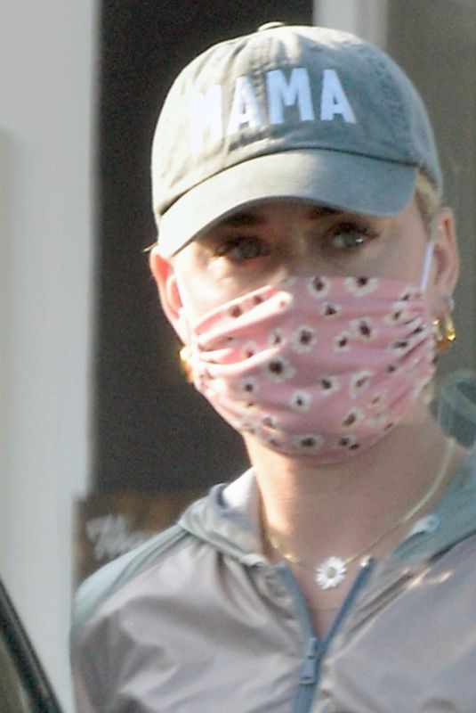 Katy Perry Steps out wearing