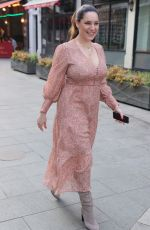 Kelly Brook Arriving at the Global Studios in London