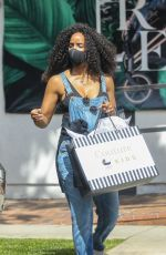Kelly Rowland Shops at Couture Kids in West Hollywood