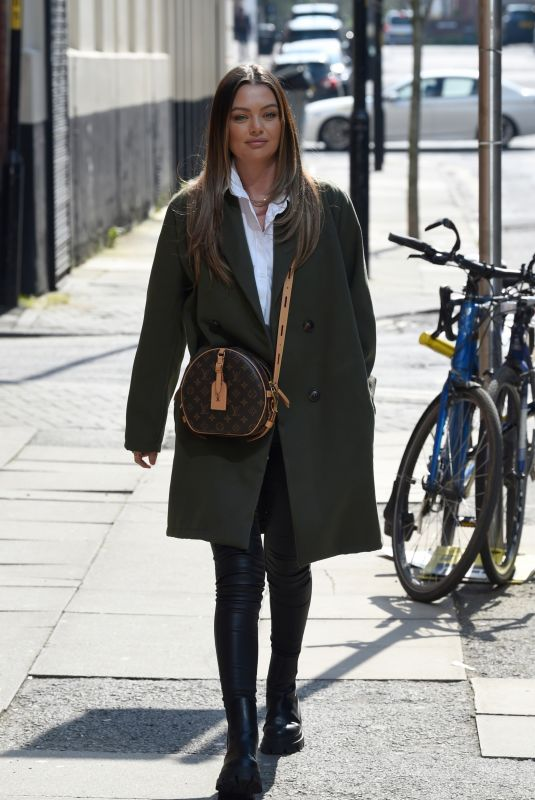 Kendal Rae Knight seen leaving 20 Storeis in Manchester