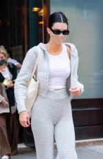Kendall Jenner Checks out of the Greenwich hotel and heads to the airport in New York