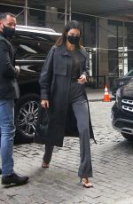 Kendall Jenner Heads to a restaurant in New York
