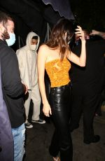 Kendall Jenner & Kylie Jenner Step out for a night at the nice guy in West Hollywood