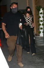 Kendall Jenner Looked stylish while stepping out for another night on the town grabbing dinner at Craigs Restaurant in West Hollywood