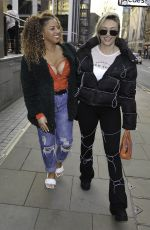Kimberly Hart-Simpson Girls Nightout at Impossible bar in Manchester