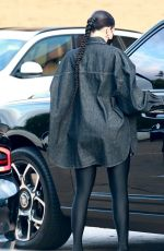 Kylie Jenner Enjoys a dinner date with her daughter at Nobu in Malibu
