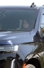 Kylie Jenner Touches down in Palm Springs