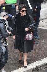 """Lady Gaga and Adam Driver on the set of """"House of Gucci"""" filmed in Rome"""