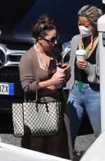 Lady Gaga At the set of House of Gucci in Rome